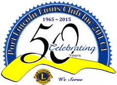50th logo lions club